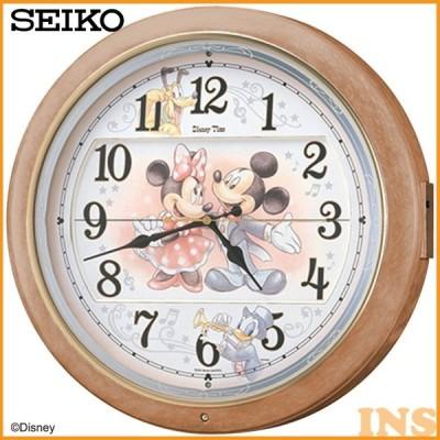 からくり時計 掛け時計 掛時計 ディズニーFW561A セイコー