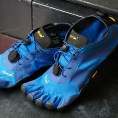 vibram送料無料 ビブラムファイブフィンガーズ Vibram FiveFingers 5本指シューズ V-ALPHA [19M7102 SS20] メンズ ベアフットスニーカー 靴 Blue/Black ブルー系