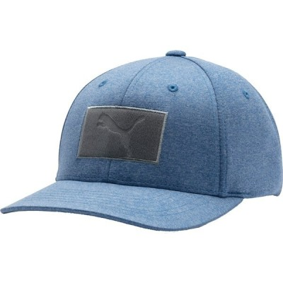 プーマ 帽子 アクセサリー メンズ PUMA Men's Utility Patch 110 Snapback Golf Hat Peacoat