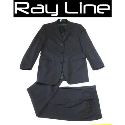 VERSACE ヴェルサーチ セットアップ スーツ 黒 サイズ48 クリーニング済 古着 超美品 中古 s02