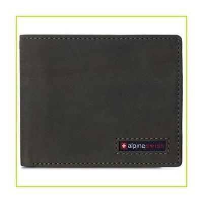 Alpine Swiss メンズ ノーラン 二つ折り コミューターウォレット RFIDセーフ US サイズ: One Size カラー: グリー
