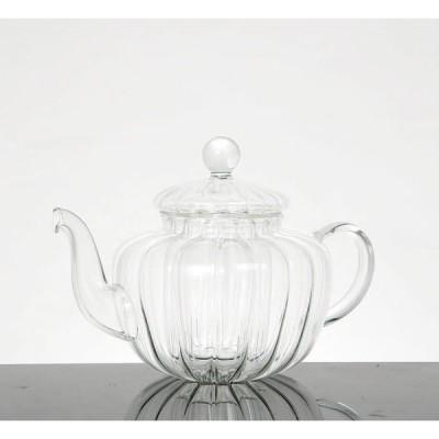 GLASS TEA POT  PUMPKIN ガラス ティー ポット パンプキン ダルトン S415-168 (S:0240)