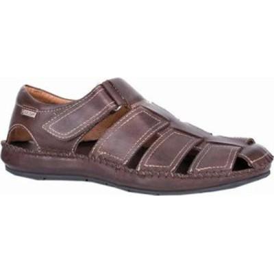 Pikolinos メンズサンダル Pikolinos Tarifa Active Sandal 06J-5818 Olmo Leather