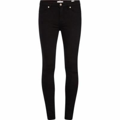 トミー ヒルフィガー Tommy Hilfiger レディース ジーンズ・デニム ボトムス・パンツ Heritage Como Skinny Jeans MASTERS BLACK