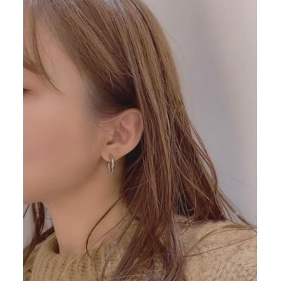 TONE / 【urbanfemine】デザインフープピアス WOMEN アクセサリー > ピアス(両耳用)