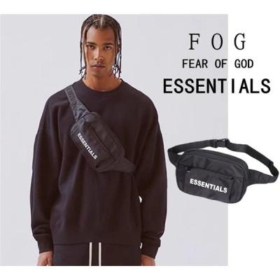 +4000円FOGバックパック購入可!FEAR OF GOD フィアオブゴッド ESSENTIALS ウエストバッグクロスボディバッグショルダーチェストバッグキャンバスバッグ
