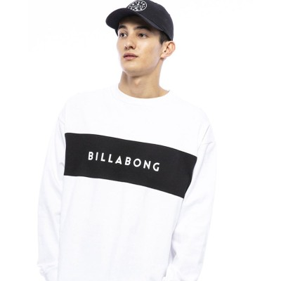 ビラボンストリート系スポーツPANEL LS 長袖Tシャツ BA012054 WHTホワイト
