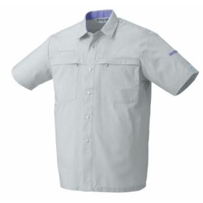26370 春夏用半袖シャツ (クロダルマKURODARUMA) 社名刺繍無料 S~5L 綿65%・ポリエステル35%