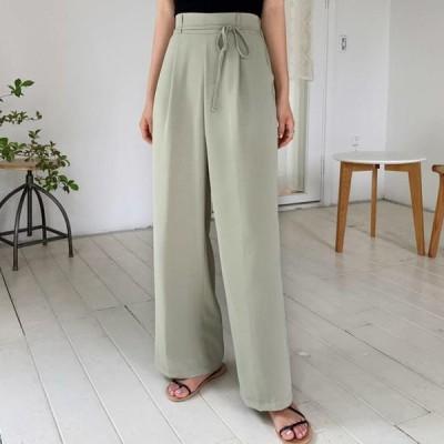 ENVYLOOK レディース パンツ Jade String Slacks