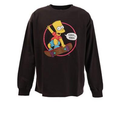 Tシャツ メンズ 長袖 シンプソンズ 9730112-02CHA