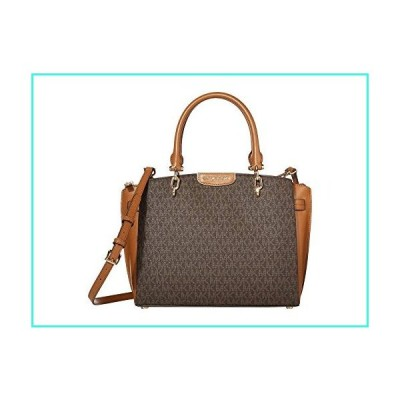 【新品】MICHAEL Michael Kors Rochelle Large Satchel Brown/Acorn One Size(並行輸入品)