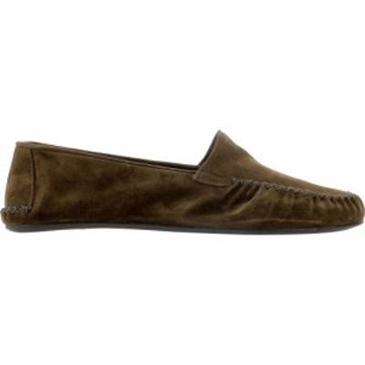 ファルファーラ Farfalla メンズ スリッパ シューズ・靴 Top Velour Slippers Brown