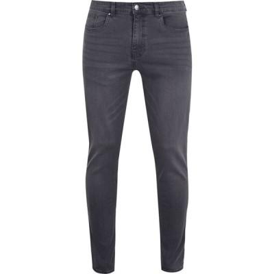 ファイヤートラップ Firetrap メンズ ジーンズ・デニム スキニー ボトムス・パンツ Skinny Jeans Charcoal
