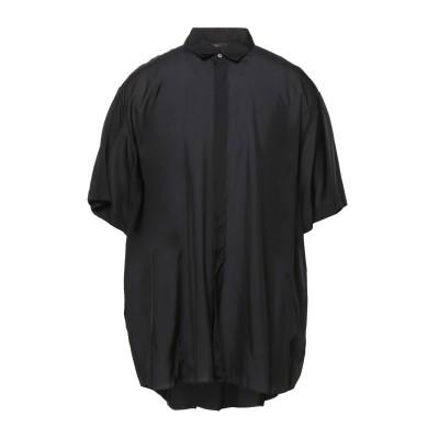 ジル サンダー JIL SANDER シャツ ブラック 38 レーヨン 100% シャツ