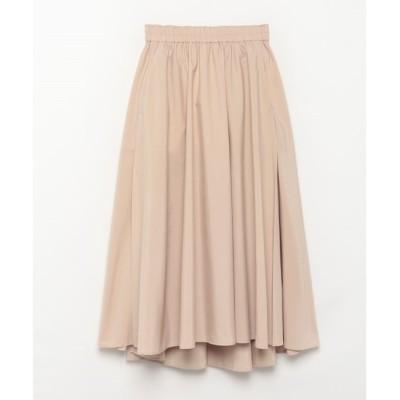 【アルアバイル/allureville】 【Loulou Willoughby】ポリエステルタフタタックフレアースカート
