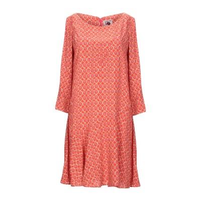 OPALINE ミニワンピース&ドレス コーラル S レーヨン 100% ミニワンピース&ドレス