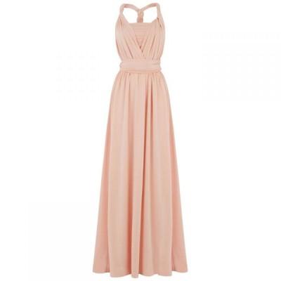 オアシス Oasis レディース ワンピース マキシ丈 ワンピース・ドレス 'Annie' wear it your way maxi dress Dusky Pink