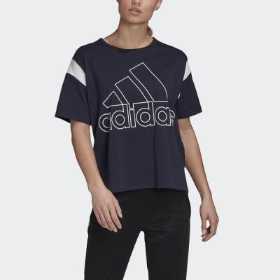 adidas アディダス W OUTLINE BOS T JJW47 GJ0463 レディーススポーツウェア Tシャツ レディース レジェンドインク セール
