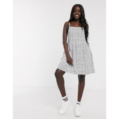 デイジーストリート レディース ワンピース トップス Daisy Street mini cami dress in scattered polka dot