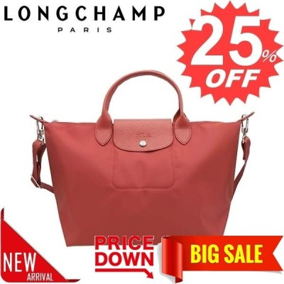 ロンシャン バッグ ハンドバッグ LONGCHAMP LE PLIAGE NEO 1515 SAC PORTE MAIN 545 ROUGE 598   比較対照価格26,400 円