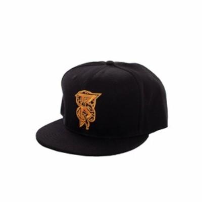 ベアートゥース Beartooth ユニセックス キャップ 帽子 - Snake B - Cap black