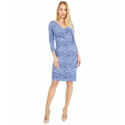 ラルフローレン ワンピース トップス レディース Cleora Long Sleeve Day Dress Black/Blue/Multi
