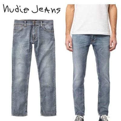 ヌーディージーンズ Nudie Jeans THIN FINN シンフィン デニム ジーンズ パンツ スリム BROKEN SAGE 色落ち スキニー メンズ