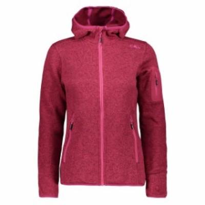 cmp シーエムピー アウトドア 女性用ウェア フリース cmp jacket-fix-hood