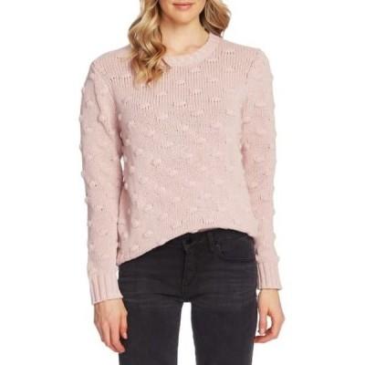 ヴィンスカムート レディース ニット&セーター アウター Cotton Popcorn Sweater SOFT PINK