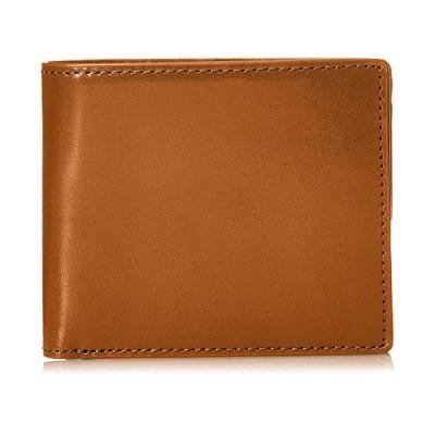 ゾナール コインポケット付き二つ折財布 LATERITE 上質イタリアンオイルレザー使用 カード 大容量 ギフト キャメル