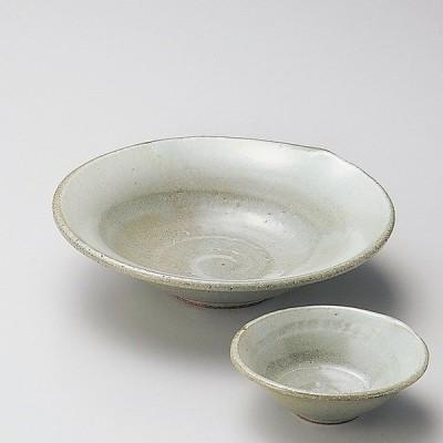和食器 手造風粉引吹反刺身 17×4.3cm うつわ 陶器 おしゃれ おうち