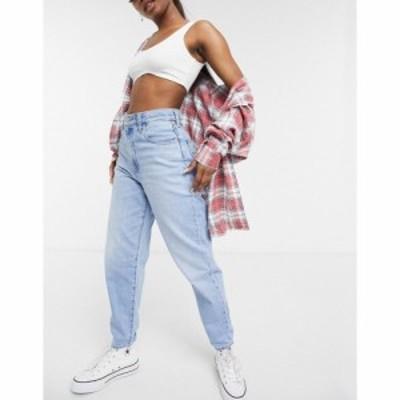 リーバイス Levis レディース ジーンズ・デニム ボトムス・パンツ Ribcage Straight Leg Ankle Grazer Jeans In Bleach Wash