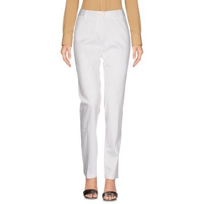 KEN BARRELL パンツ ホワイト 42 97% コットン 3% ポリウレタン パンツ