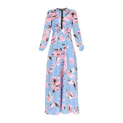 リュー ジョー LIU •JO ロングワンピース&ドレス スカイブルー 40 ポリエステル 100% ロングワンピース&ドレス