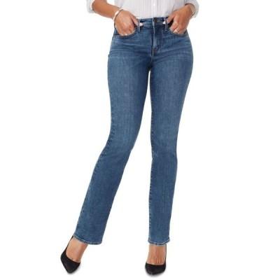 エヌワイディージェイ レディース デニムパンツ ボトムス Barbara Tummy-Control Bootcut Jeans