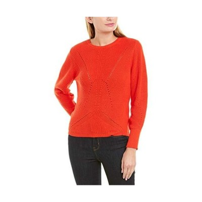 Vince Camuto Womens Long Sleeve Lace Back Mock Neck Cable Sweater Mandarin