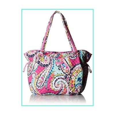 【新品】Vera Bradley Women's Signature Cotton Glenna Tote Bag, Wildflower Paisley(並行輸入品)