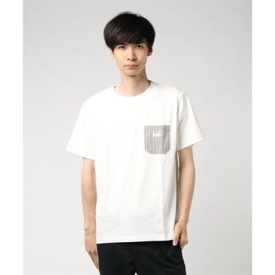 tシャツ Tシャツ 別布ポケット付Tシャツ/ピスネーム