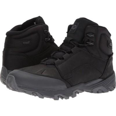 メレル Merrell メンズ ハイキング・登山 シューズ・靴 Coldpack Ice+ Mid Waterproof Black