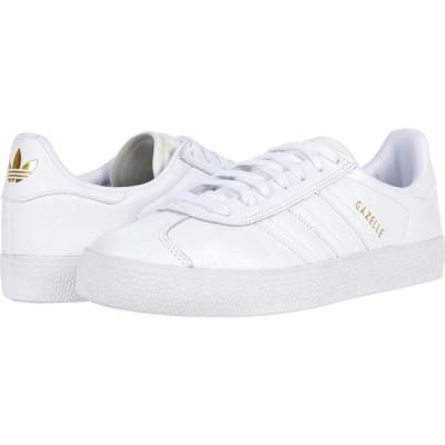 アディダス adidas Skateboarding レディース スニーカー シューズ・靴 Gazelle Advantage White/White/Gold Metallic