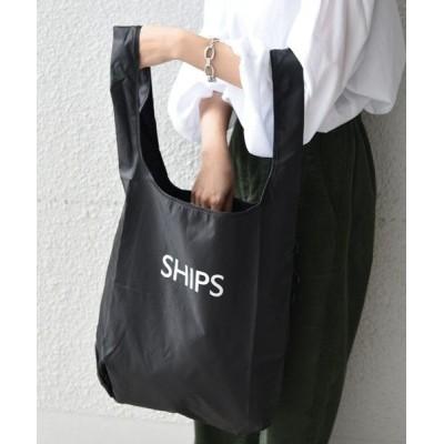 SHIPS for women/シップスウィメン 《一部予約》ニューパッカブルエコバッグ◆ ブラック ONE SIZE