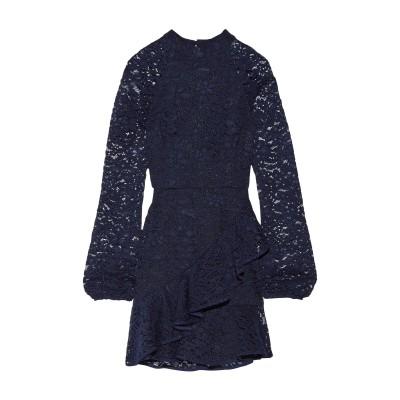 REBECCA VALLANCE ミニワンピース&ドレス ダークブルー 6 レーヨン 65% / ナイロン 35% ミニワンピース&ドレス
