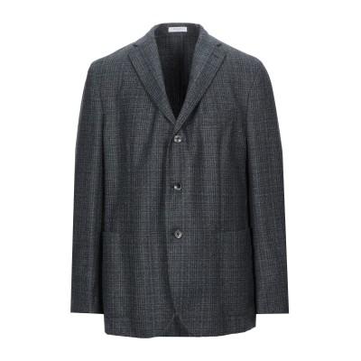 ボリオリ BOGLIOLI テーラードジャケット スチールグレー 56 バージンウール 100% テーラードジャケット
