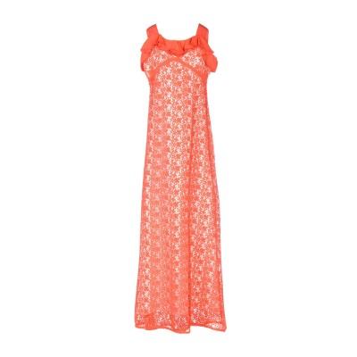 ピンコ PINKO ロングワンピース&ドレス レッド 40 100% ポリエステル ロングワンピース&ドレス