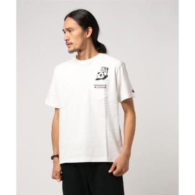 tシャツ Tシャツ PANDIESTA JAPAN /パンディエスタジャパン フラッグパンダTシャツ (M2)