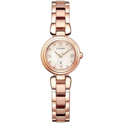 CITIZEN XC シチズン クロスシー mizu collection エコドライブ ピンクゴールド レディース腕時計 EW5572-56W