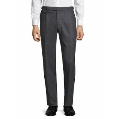 インコテックス メンズ パンツ Windowpane Flat-Front Pants