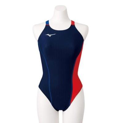 競泳練習用エクサースーツUP ミディアムカット(レディース) MIZUNO ミズノ スイム 競泳水着 エクサースーツ(練習用水着) (N2MA0760)