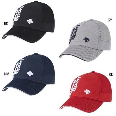 デサント メンズ レディース バックメッシュキャップ 帽子 スポーツ トレーニング DMAPJC02