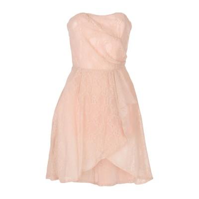 LA KORE ミニワンピース&ドレス パステルピンク 40 ナイロン 92% / ポリウレタン 8% ミニワンピース&ドレス